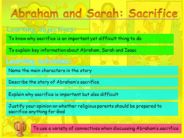 Abrahamic Religious Key Figures: Abraham and Sarah