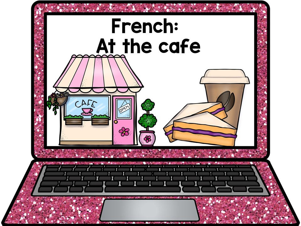 French PowerPoint: At the cafe