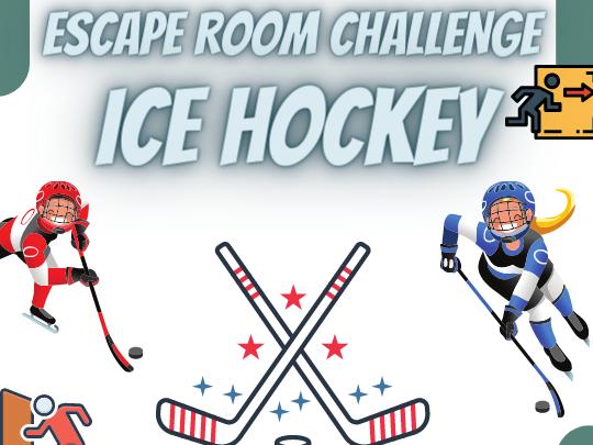 Ice Hockey Escape Room
