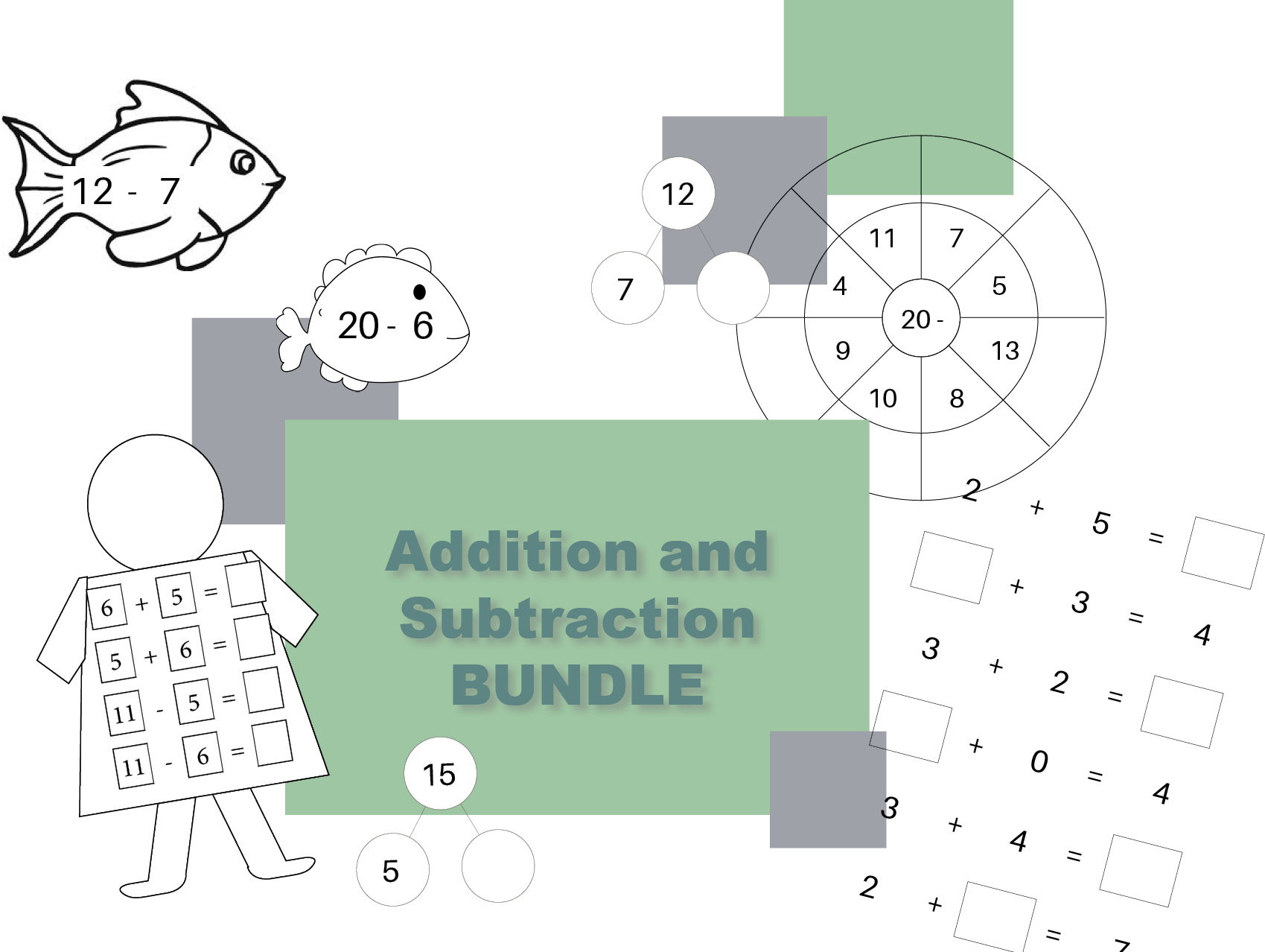 Addition and Subtraction Galore