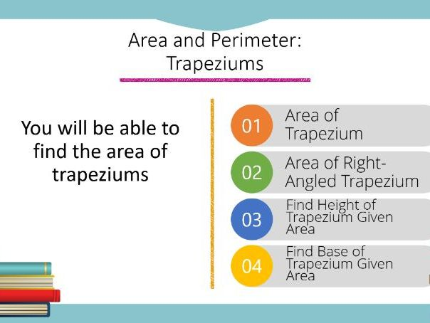 Area: Trapeziums Powerpoint (Foundation GCSE)
