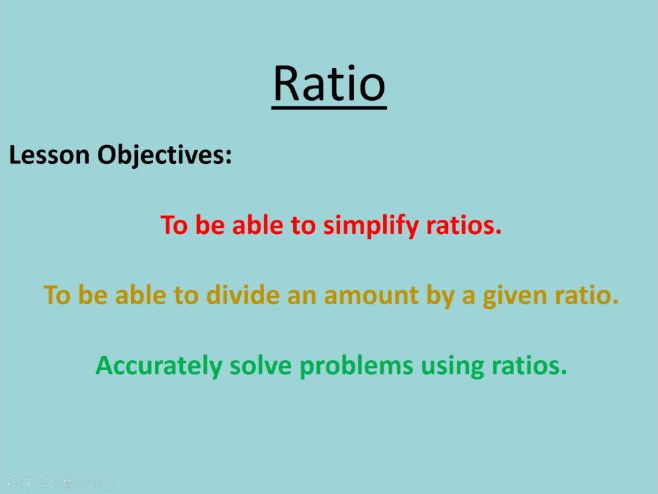 Ratio (Differentiated)