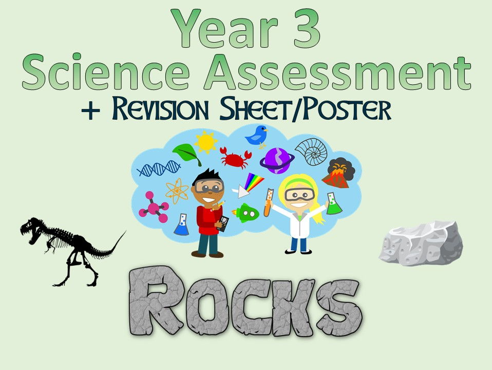 Year 3 Science Assessment: Light + Revision Sheet/Poster
