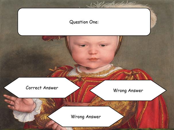Henry VIII Interactive PowerPoint Quiz [Template]