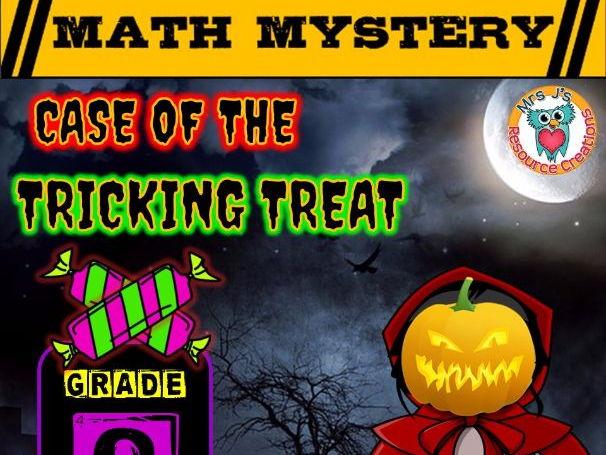 Halloween Math Mystery (GRADE 8)