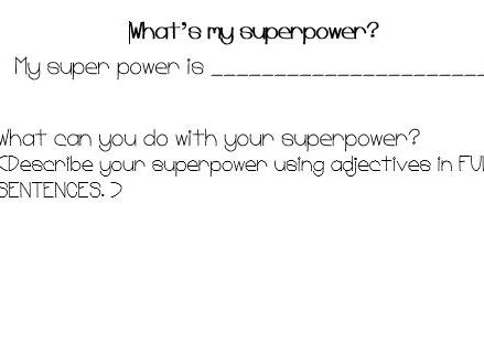 Create your own superpower