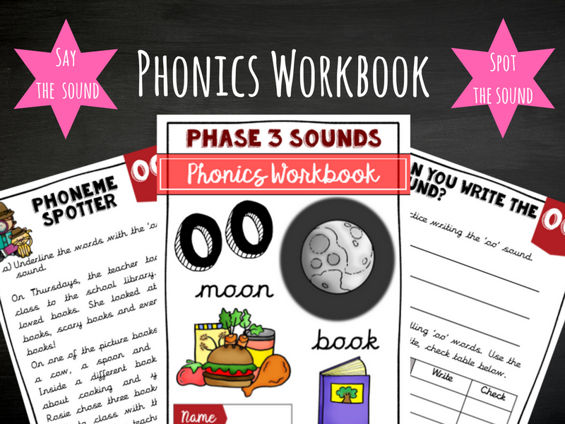 'oo' Phonics Workbook