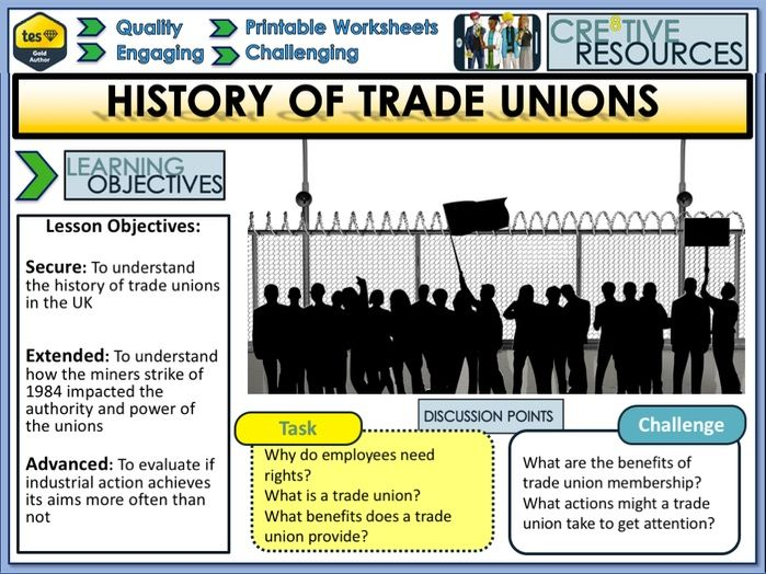 History of Trade Unions