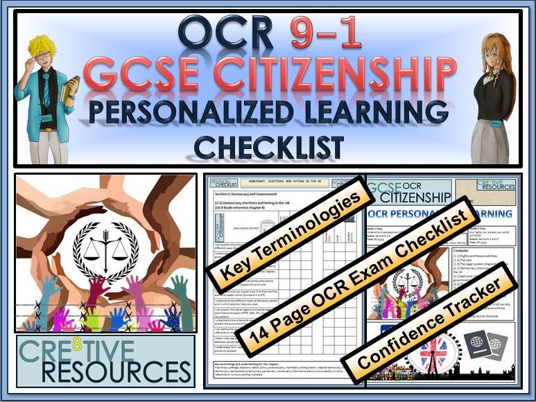 OCR GCSE CITIZENSHIP (9-1) REVISION PLC