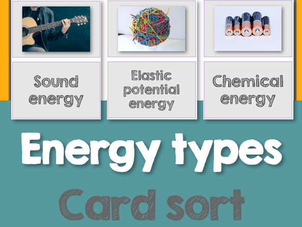Energy Types cardsort