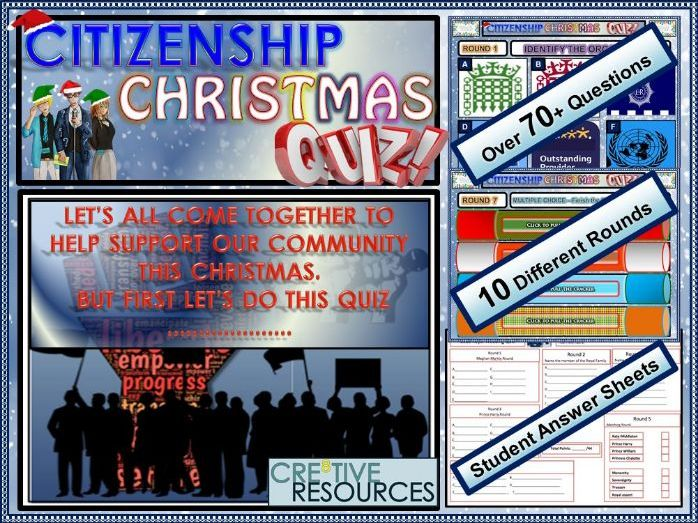 GCSE Citizenship Christmas Quiz
