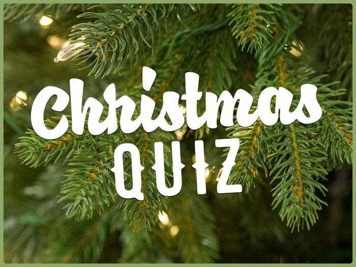 Christmas Quiz 2016 (For the end of term)