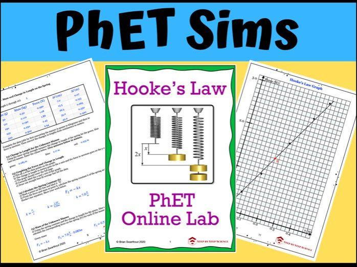 PhET Simulation: Hooke's Law Online Lab