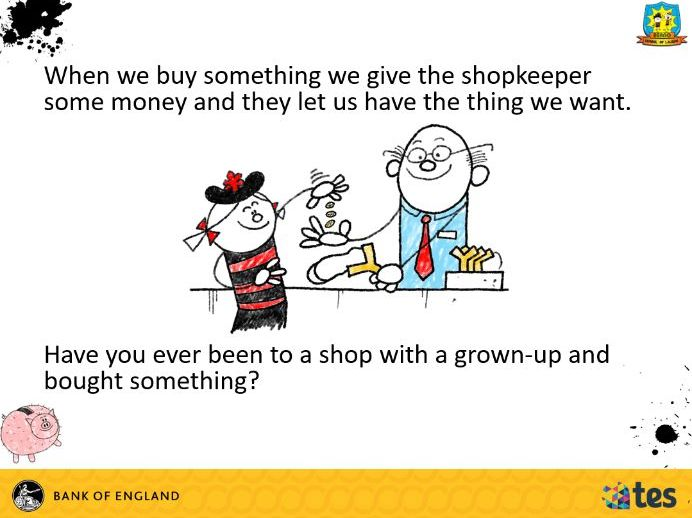 Lesson 1 Money and me - All about money (English curriculum)