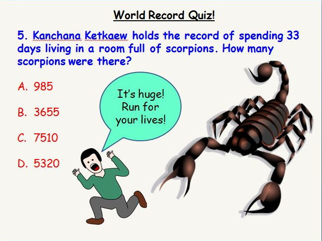 Crazy World Records Quiz