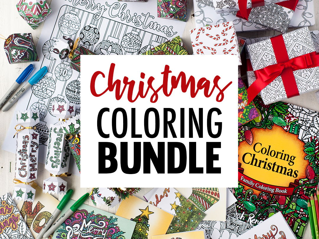 Coloring Christmas Printable Activity Pack