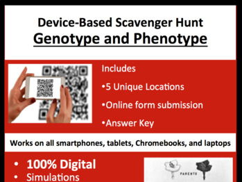 Genotype and Phenotype – A Digital Scavenger Hunt Activity
