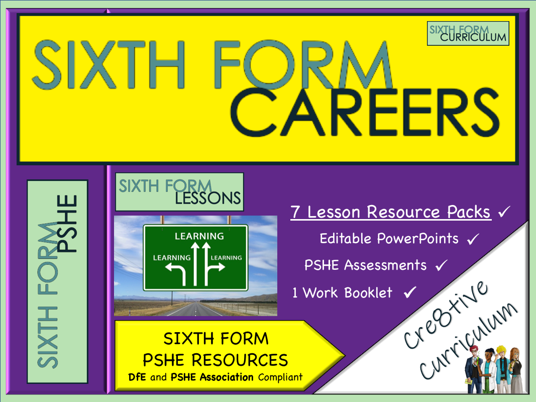 KS5 PSHE Lessons Sixth Form Careers