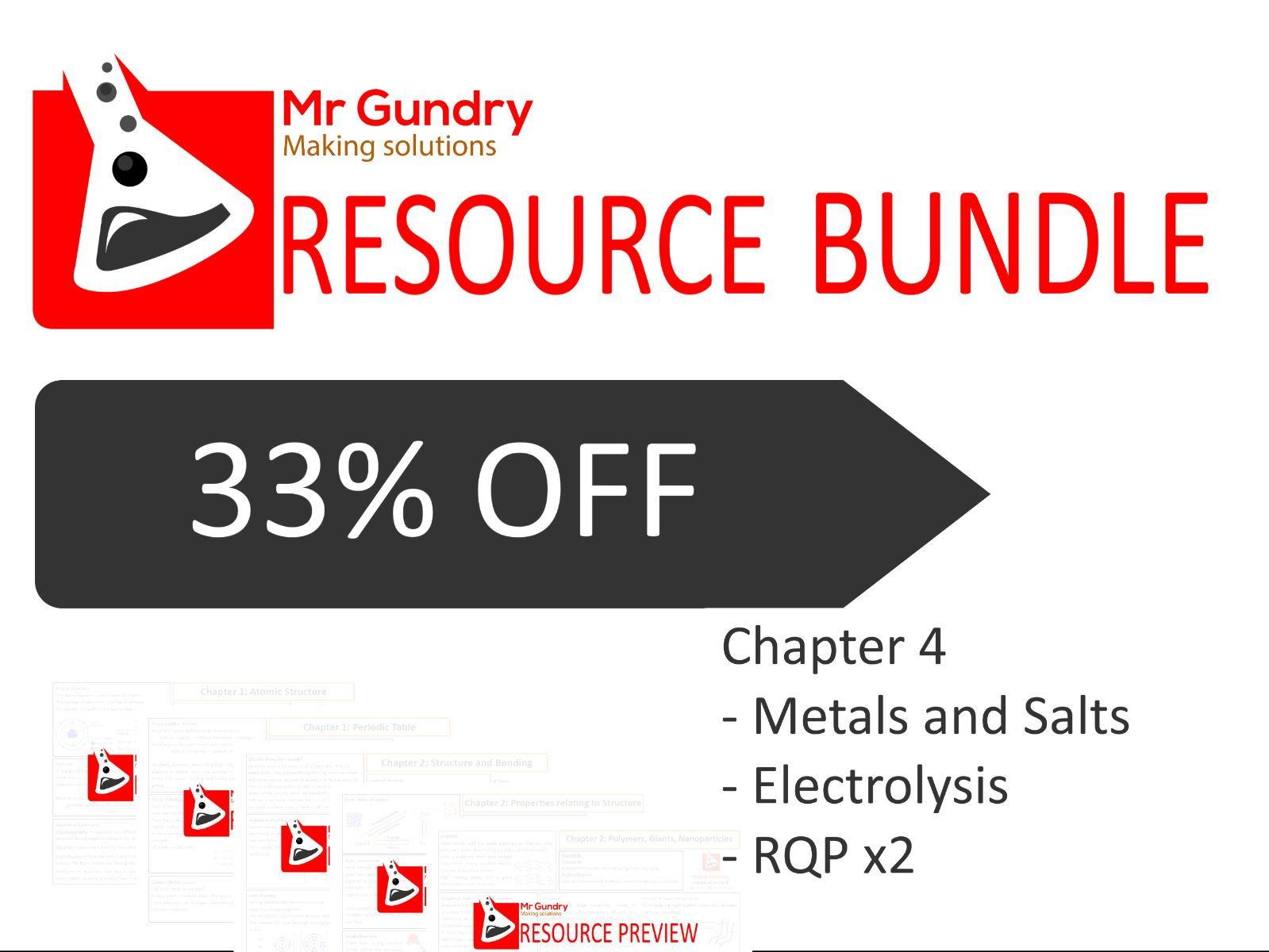 AQA Chapter 4: Revision Bundle