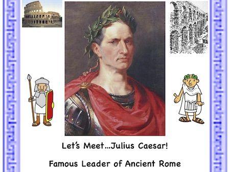 Julius Caesar: A Reading Passage Activity