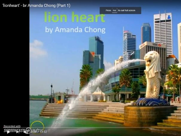 'Lion Heart' - Amanda Chong (CIE IGCSE Literature 0486, 'Songs of Ourselves')