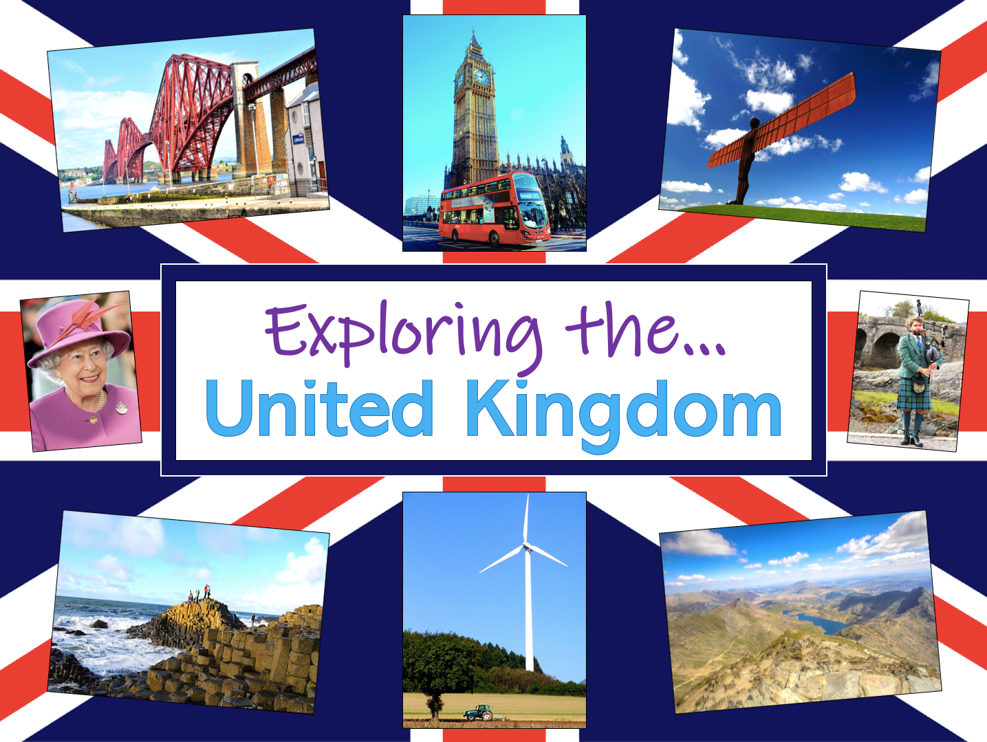 Exploring the United Kingdom - KS1