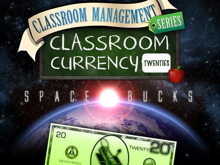 Classroom Currency: Space Bucks - 20s