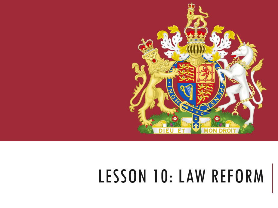 ELS - Law Reform Lesson