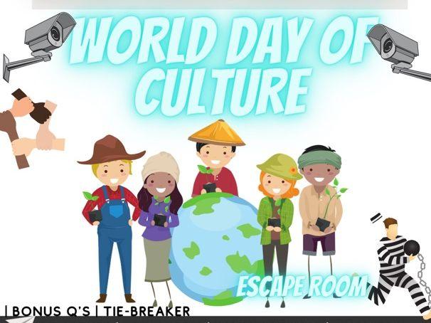 World Culture Day escape room