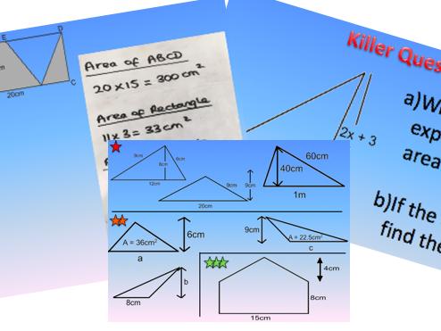Area of a Triangle Lesson
