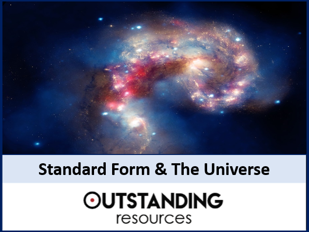 Number: Standard Form and our universe (introduction)