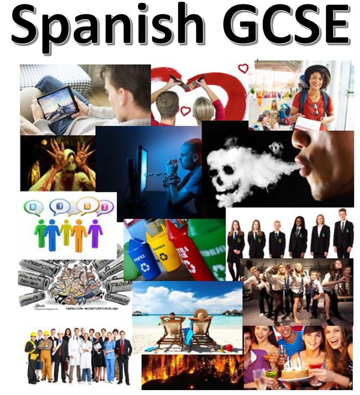 Spanish GCSE support bundle (speaking and writing)