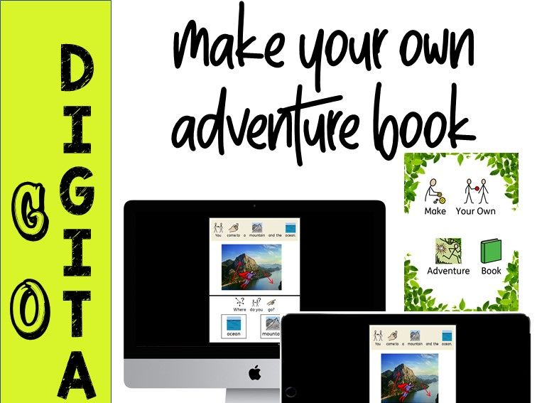 Make Your Own Adventure Book - DIGITAL  interactive powerpoint