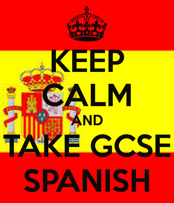 New Spanish GCSE speaking and writing resources