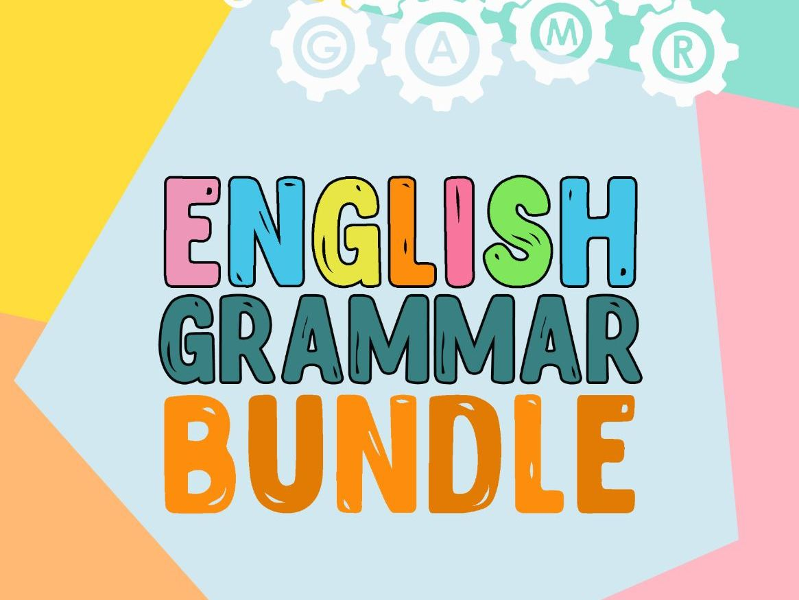 English grammar bundle