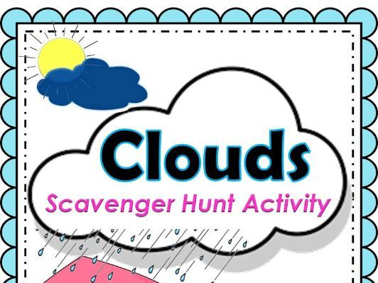 Clouds Scavenger Hunt