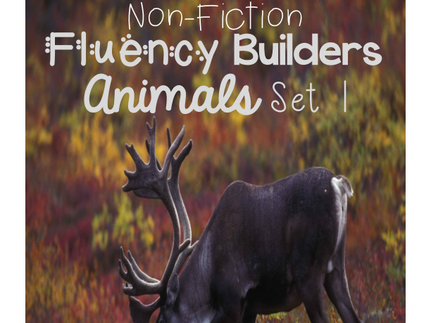 Non-Fiction Fluency Builders Animals