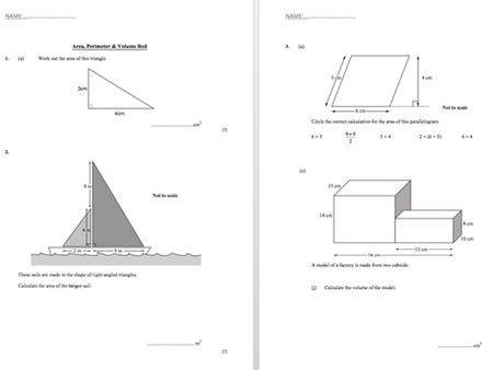 Differentiated Worksheet Bundle