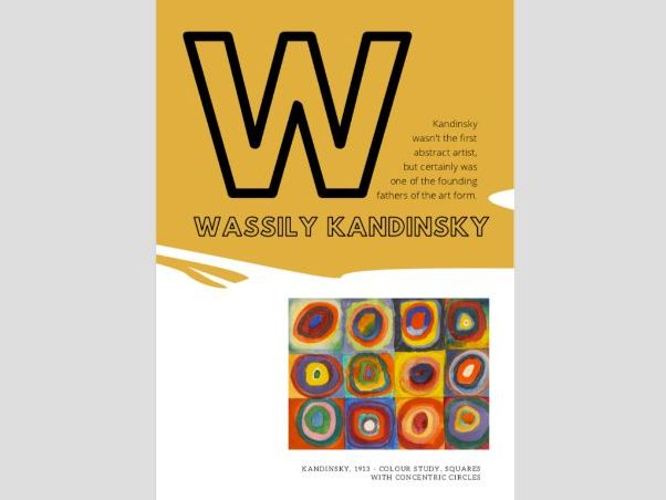 Artist A to Z | W |  Wassily Kandinsky | Colour Theory