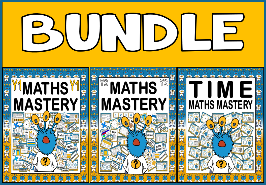 *BUNDLE* MASTERY MASTERY YEAR 1-2