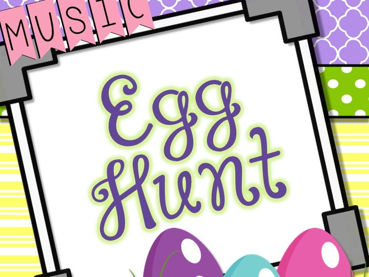 Music Egg Hunt - Clip It!