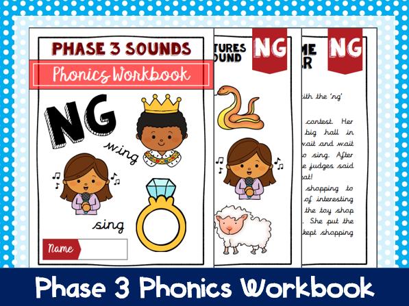 'Ng' Phonics Workbook