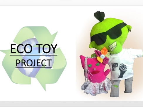 Eco Toy: Design & Make Stuffed Toy Project PowerPoint - Upper KS3 Textiles