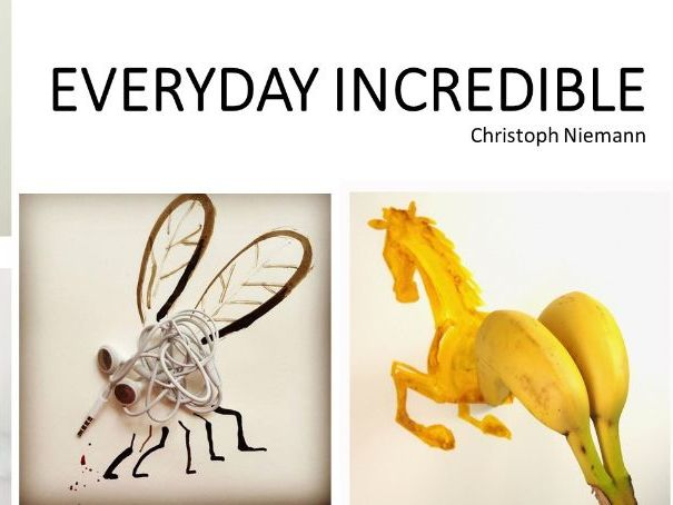 Everyday Incredible Art project suitable for home learning