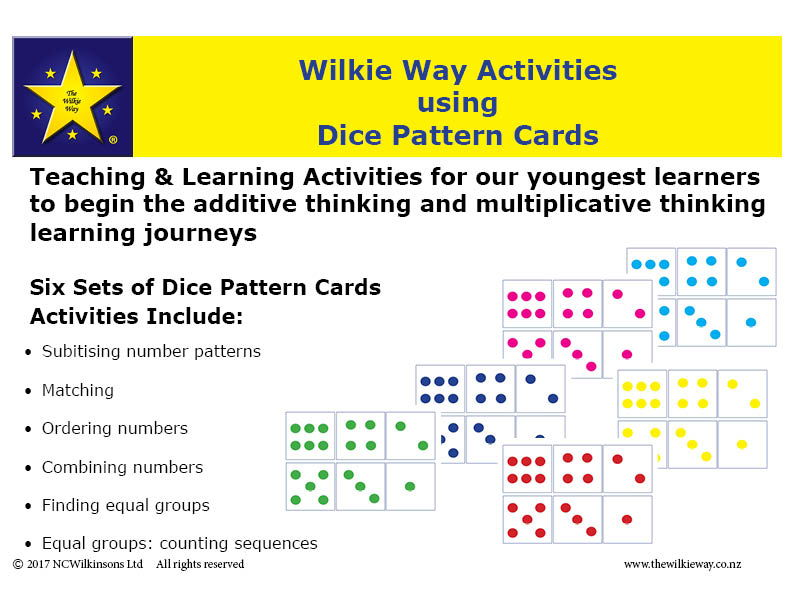 Getting Started with Numbers: Dice Pattern Activities