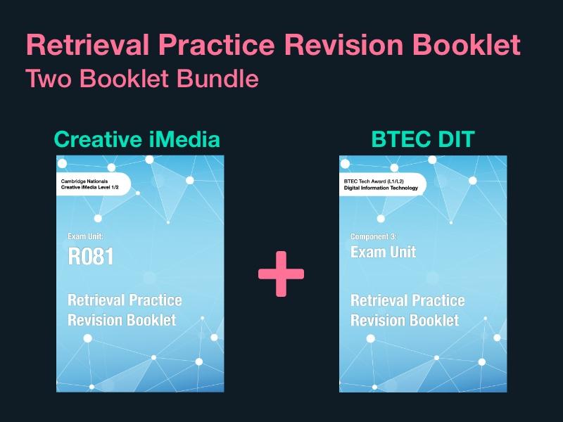 Retrieval Practice Revision Booklet Bundle