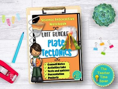 Plate Tectonics Notebook Bundle