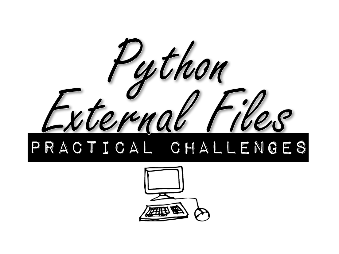 Python Using External Files