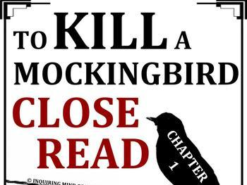 To Kill a Mockingbird Close Reading Worksheet (Chapter 1; ACT Prep)