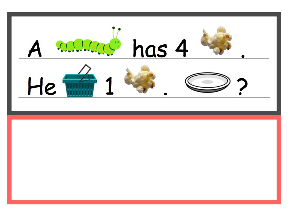 Popcorn Addition Word Problems (0-10)